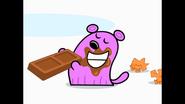 147 Tiny Eating Chocolate 2