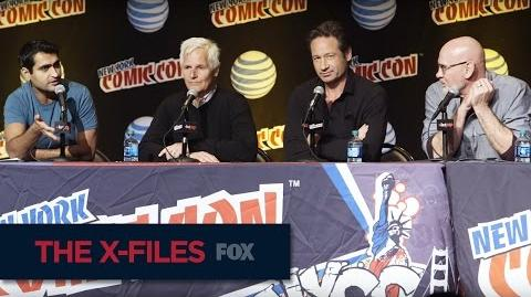 THE X-FILES New York Comic Con The Right Moment FOX BROADCASTING