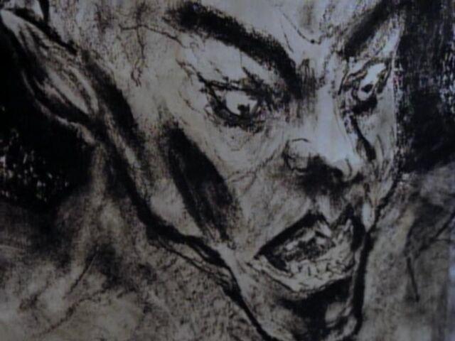 File:Gargoyle Drawing Grotesque.jpg