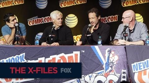 THE X-FILES New York Comic Con Falling Right Back Into Place FOX BROADCASTING