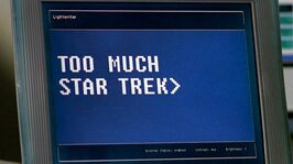Star Trek on Lightwriter