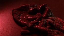 Long-clawed alien's skin