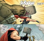 Thor knocks Mzee