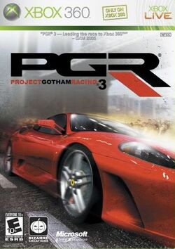 ProjectGothamRacing3 CoverArt