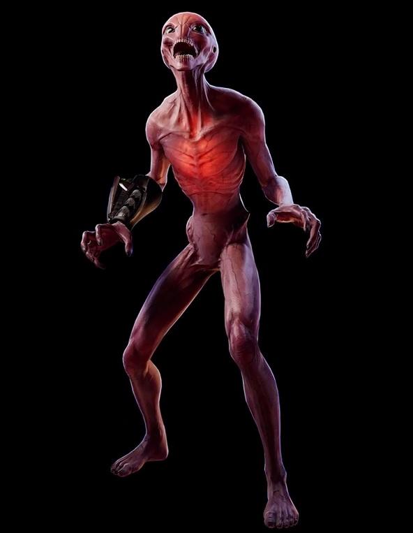 Sectoid (XCOM 2) vs Warrior (Alien) | SpaceBattles Forums