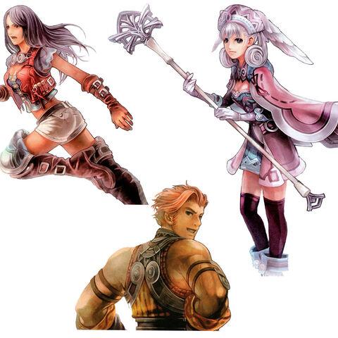 Sharla, Melia and Reyn