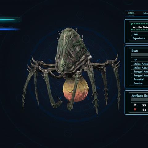 Amrita Scirpo in the Enemy Index