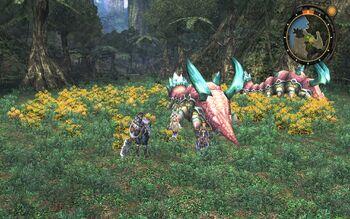 Yellow-flower-grove