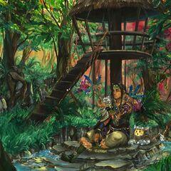 Deep in the Forrest (fan art)