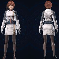 Female Cross Officer Clothes