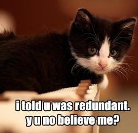 Redundant57