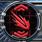 Firing arc icon rear
