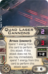 Quad-laser-cannons