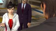 Kanai surprises Haruka for seeing her again