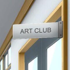 Art Club Sign. July 12th, 2016.