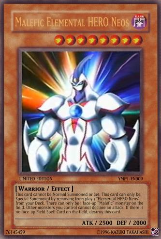 Elemental Hero God Neos Image - Malefic Elemen...