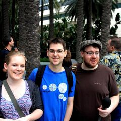At Blizzcon with Lewis and Hannah.