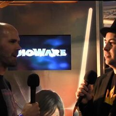 TotalBiscuit interviewing Bioware veteran and Lead Writer for Star Wars: The Old Republic, Daniel Erickson.