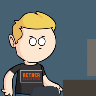 <i>Screw The Nether</i> reference (also T-shirt available to buy).