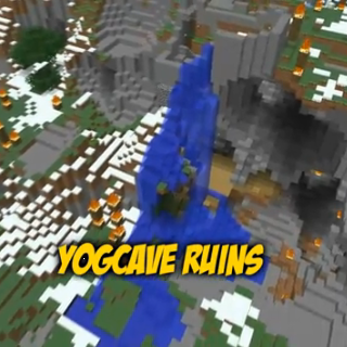 The YogCave in ruins, as of