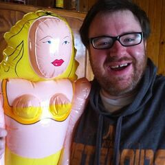 Simon and the blow up doll that <a href=