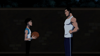 Bruce and Robin Basketball