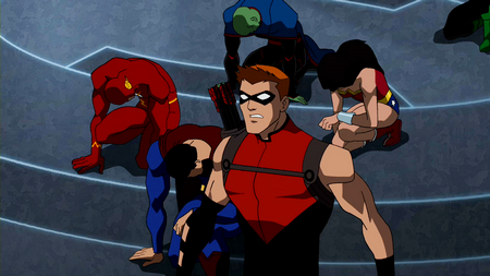 Image - Red Arrow shocked.png   Young Justice Wiki ...