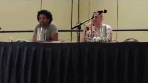 Greg Weisman and Khary Payton at Mechacon '14 - Part 1