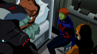 Miss Martian captured