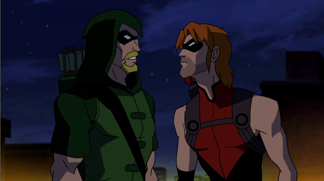Image - Red Arrow is angry.png | Young Justice Wiki ...