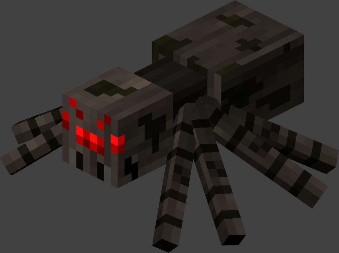 Spider Statue Minecraft Spider minecraft