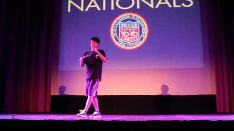 1A - 6th Place - Evan Nagao - 2014 US National YoYo Contest