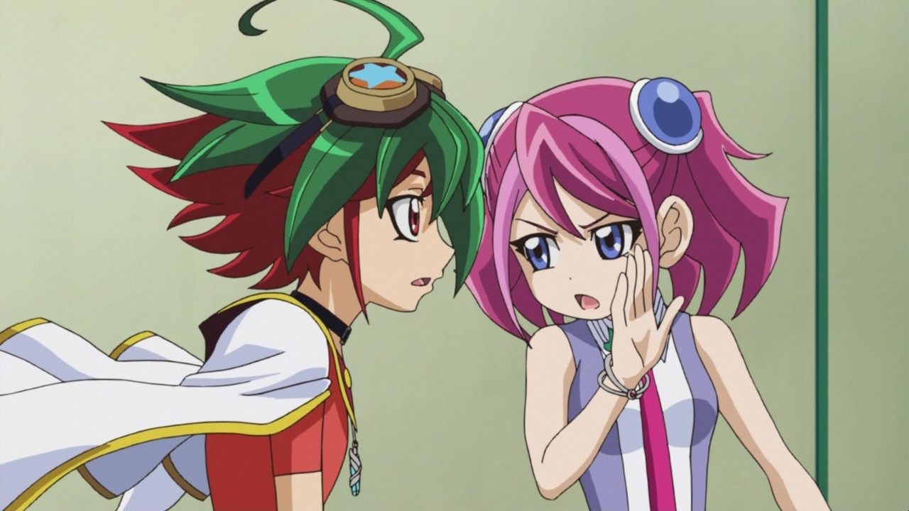 Image - Arc V 02 Yuya and Yuzu.jpg | Yu-Gi-Oh! ARC-V Wiki ...  Image - Arc V 0...