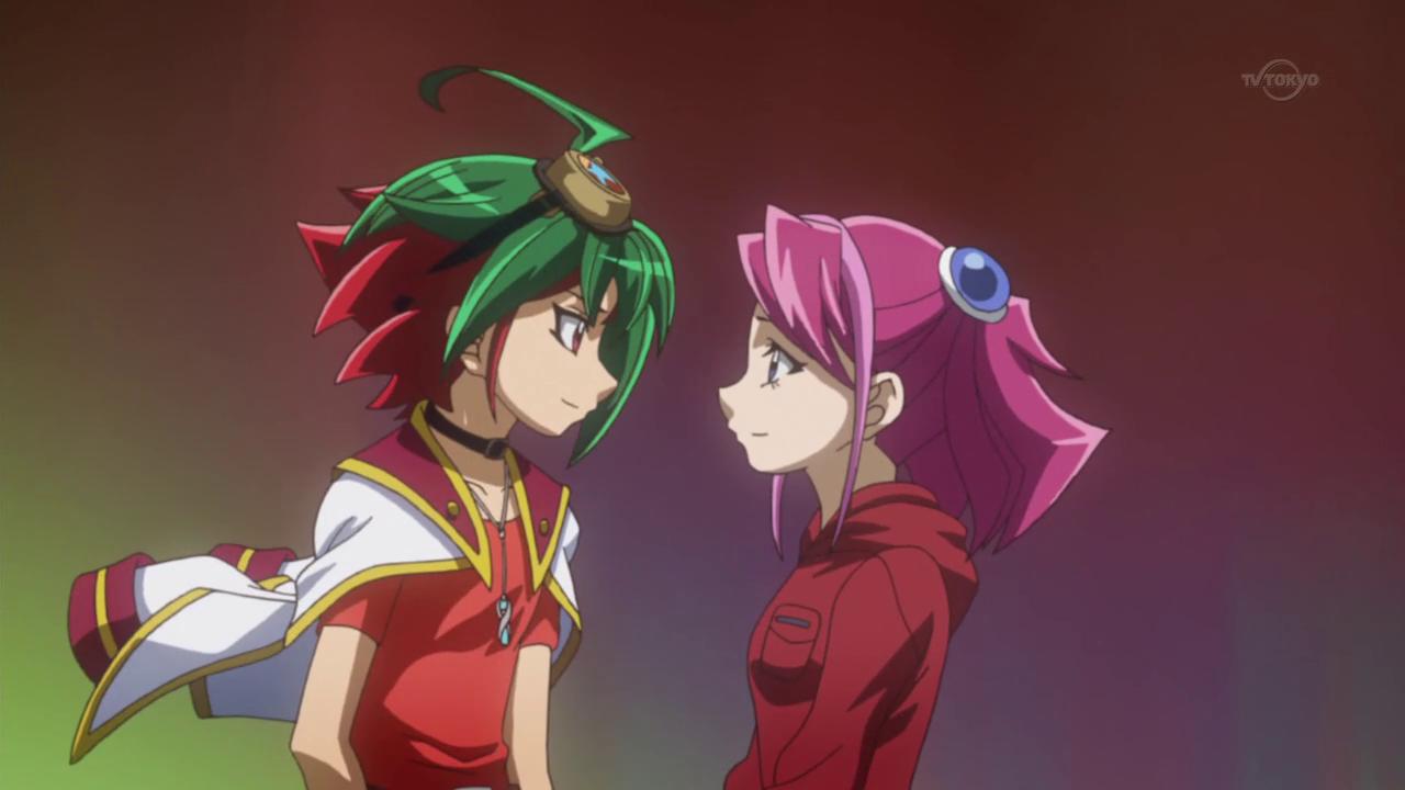 Image - Yuya and Yuzu 99-10.png | Yu-Gi-Oh! ARC-V Wiki ...  Image - Yuya an...