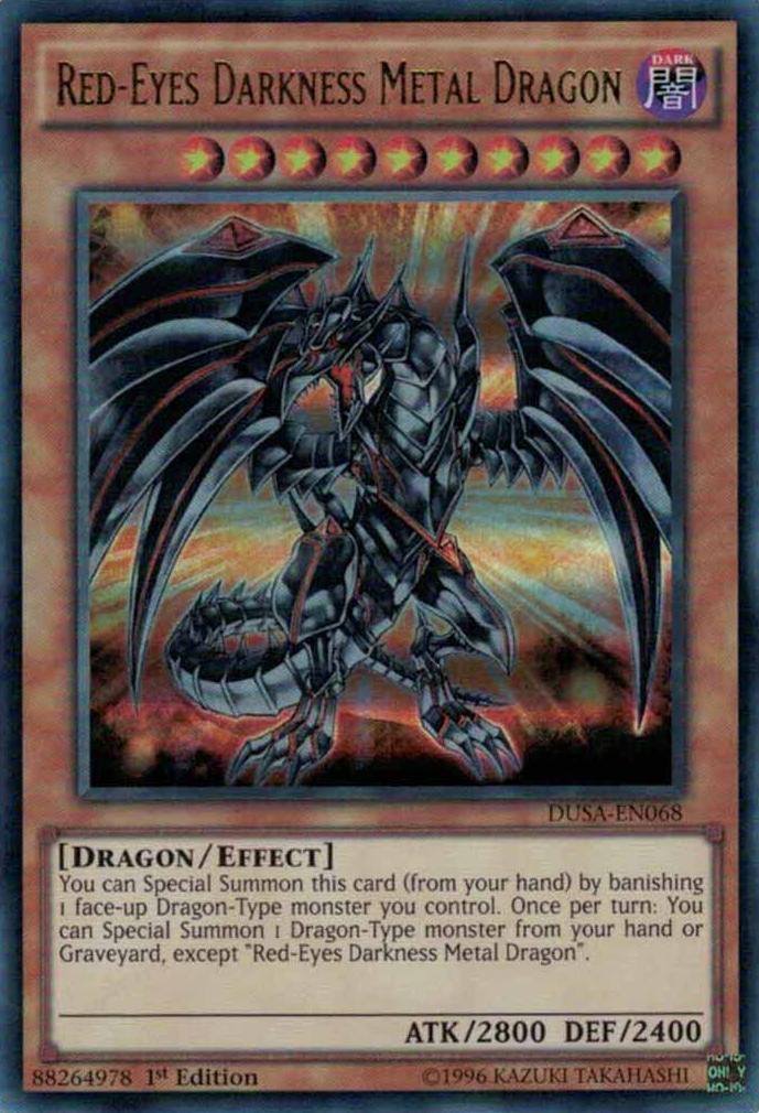 Red-Eyes Darkness Metal Dragon   Yu-Gi-Oh!   FANDOM ...  Red-Eyes Darkne...
