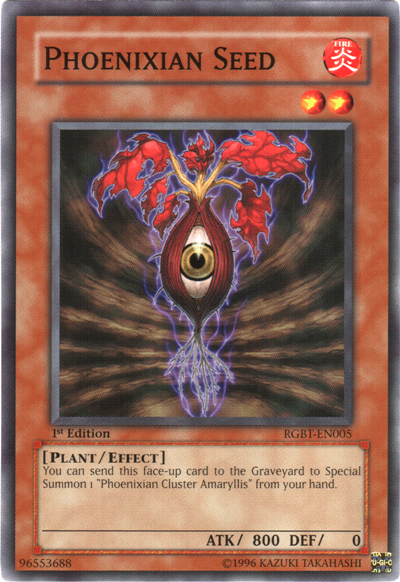 Phoenixian Seed | Yu-Gi-Oh! | FANDOM powered by Wikia