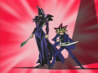 Yugi and Dark Magician