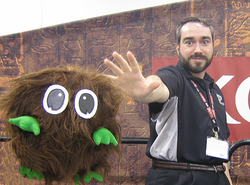 Kevin Tewart with the best monster ever