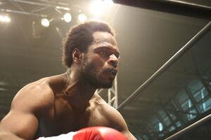 Bernard Ackah boxing