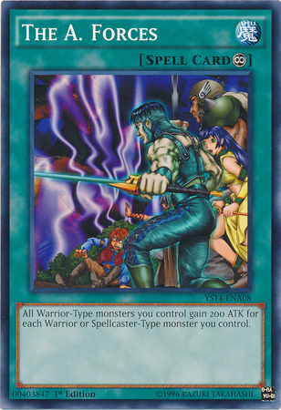 the a forces yugioh fandom powered by wikia