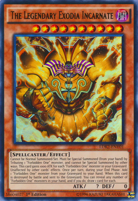 The Legendary Exodia Incarnate