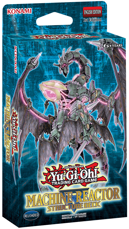 Machine Reactor Structure Deck Yu Gi Oh Fandom