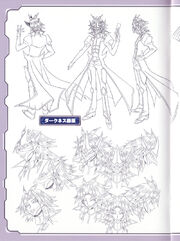 Dark Yusuke lineart