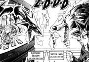 D-002 Koumori Dragon VS Silver Fang