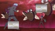 Yu-Gi-Oh! in Hayate duel