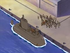 North Academy submarine