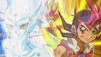Yuma and Astral obtain ZEXAL III