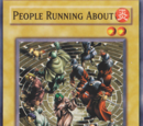 People Running About