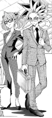 Yuzu and Yuto manga 7-1