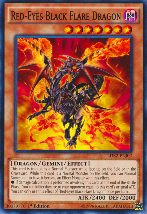 How To Jump A Starter >> Red-Eyes Black Flare Dragon   Yu-Gi-Oh!   FANDOM powered by Wikia